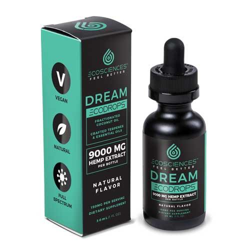 Dream Ecodrops, CBD Tincture, 30 ml