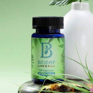 BeLeaf Full Spectrum CBD Oil Capsules, 1200 mg, 60 ct Bottle