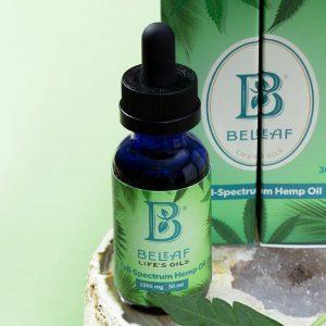 BeLeaf Full Spectrum CBD Oil Tincture, 1500 mg, 30 ml