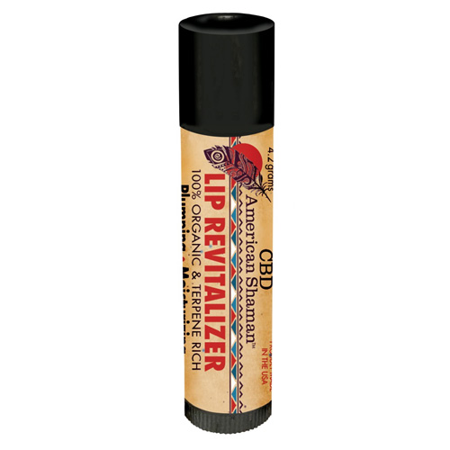 CBD American Shaman CBD Lip Revitalizer, 30 mg, Stick