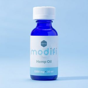 Modifi Hemp CBD Hemp Isolate Oil Tincture, 1500 mg, 30 ml