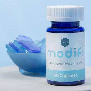 Modifi Hemp Extract CBD Capsules, 1200 mg, 60 ct Bottle