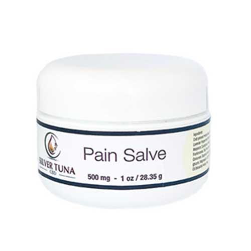 Silver Tuna CBD Pain Salve, 500 mg, 1 oz