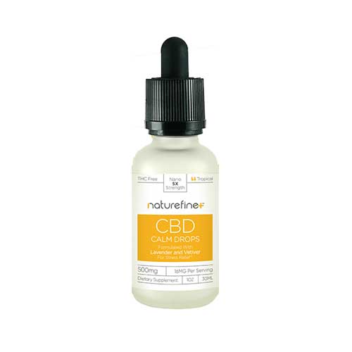 Nature Fine CBD Calm Drops 500 mg 30 ml