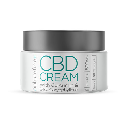 Nature Fine CBD Cream 500 mg, 2 oz
